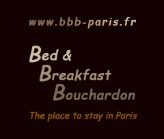 logo bed & breakfast chambre d`hôte paris
